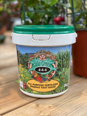 GAIA All Purpose Fertilizer 4-4-4