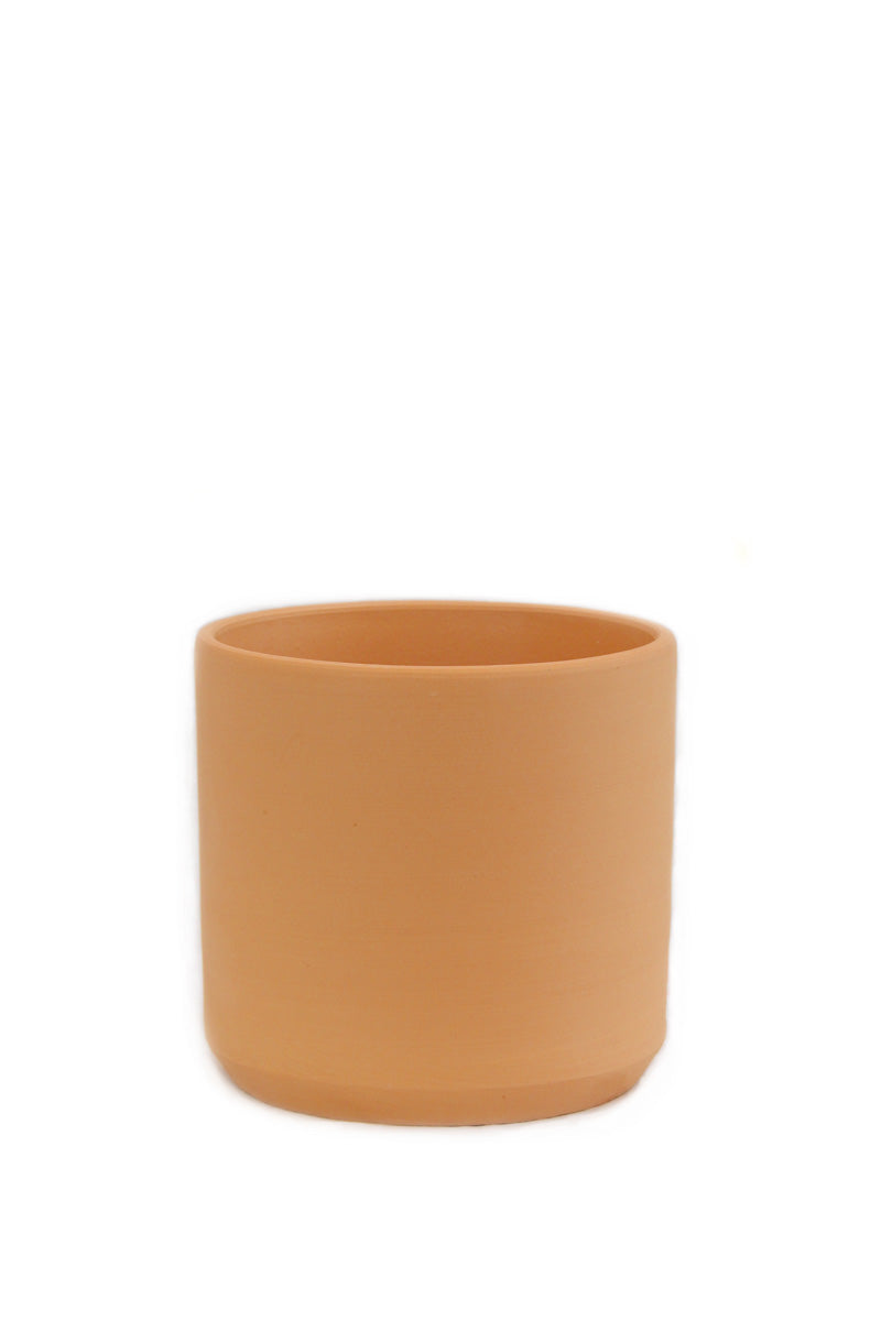 12-inch Terracotta Cylinder Pot