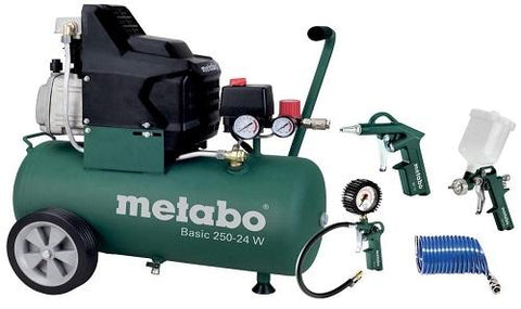 METABO KOMPRESOR BASIC 250-24W  + LPZ 4 Set - Vsegrad