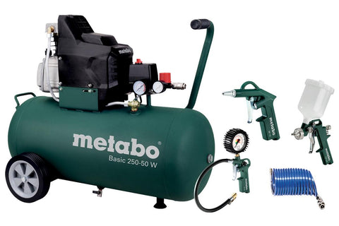 METABO KOMPRESOR BASIC 250-50W + LPZ 4 Set - Vsegrad