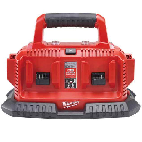 Milwaukee M1418 C6 Multicharger Polnilna postaja M14 in M18 - Vsegrad