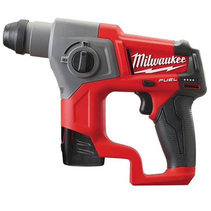 Milwaukee M12 CH-202C FUEL vrtalno kladivo SDS plus 2.0 Ah - Vsegrad