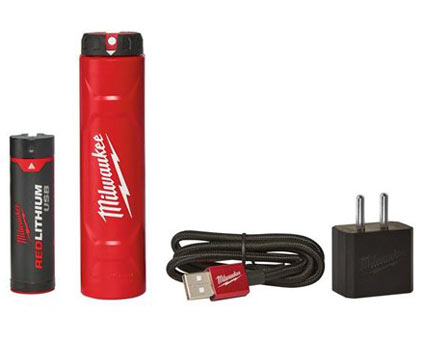 Milwaukee L4 NRG-201 Set USB akumulator in polnilnik - Vsegrad