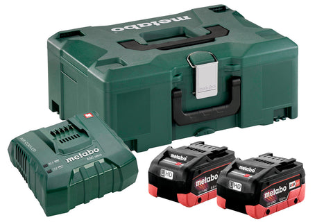 METABO SET 2 X LIHD 8,0 AH + ASC ULTRA + METALOC (685131000) - Vsegrad