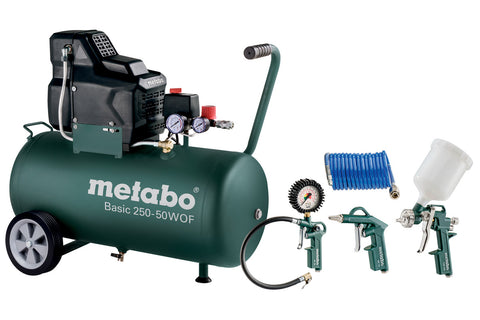 METABO BASIC 250-50 W OF (690988000) KOMPRESOR + LPZ 4 SET - Vsegrad