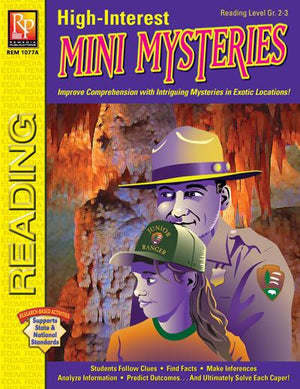 High-Interest Mini Mysteries Gr. 2-12, R.L. 2-3