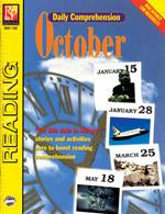 Daily Comprehension: October Gr. 5-12, R.L. 3-4