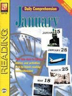 Daily Comprehension: January Gr. 5-12, R.L. 3-4
