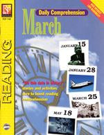 Daily Comprehension: March Gr. 5-12, R.L. 3-4