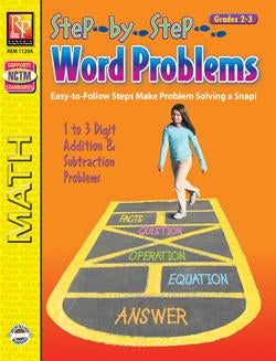 Step-by-Step Word Problems Grades 2-3
