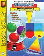 Readiness Skills Series 1: Shapes Gr. Kindergarten to grade 1