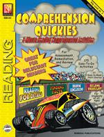 Comprehension Quickies Gr. 4-8, R.L. 3