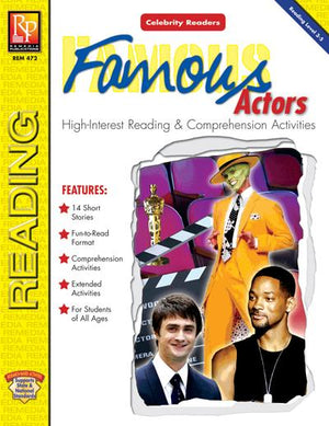 Celebrity Readers: Famous Actors Gr. 3-12, R.L. 3-4