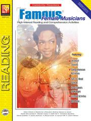 Celebrity Readers: Famous Female Musicians Gr. 3-12, R.L. 3-4