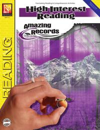 High Interest Reading: Amazing Records Gr. 3-12, R.L. 1-3