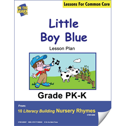 Little Boy Blue Literacy Building Aligned To C.C. Gr. Pk-K