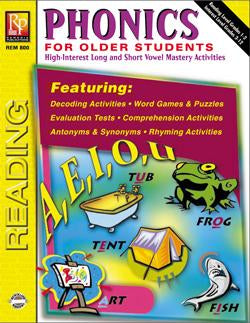 Phonics for Older Students Gr. 3-8, R.L. 1-2