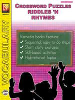 Crossword Puzzles: Riddles 'N Rhymes Gr. 3-6