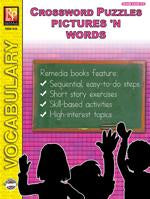 Crossword Puzzles: Pictures 'N Words Gr. 3-6