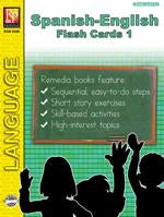 Spanish-English Flash Cards 1 Gr. 2+