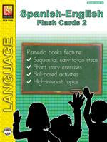 Spanish-English Flash Cards 2 Gr. 2+