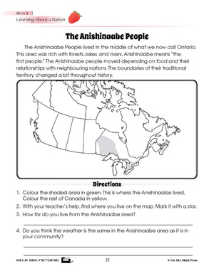 Indigenous Peoples of Canada Grades 1-3