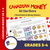 Canadian Money: At the Store Grades 3-4: 4 Worksheets & Money Masters