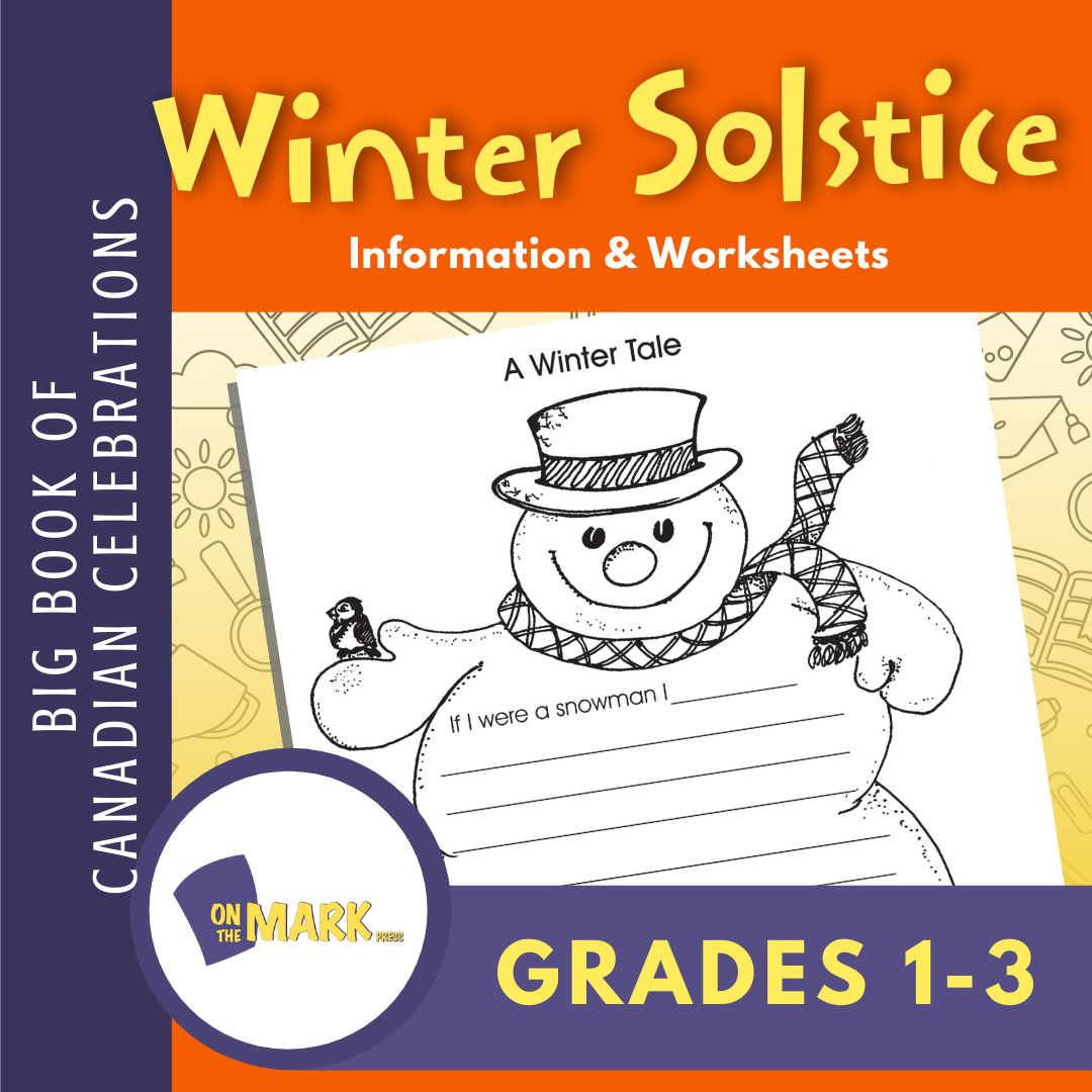 Winter Solstice Grades 1-3 Teacher Directed Lesson & Activities