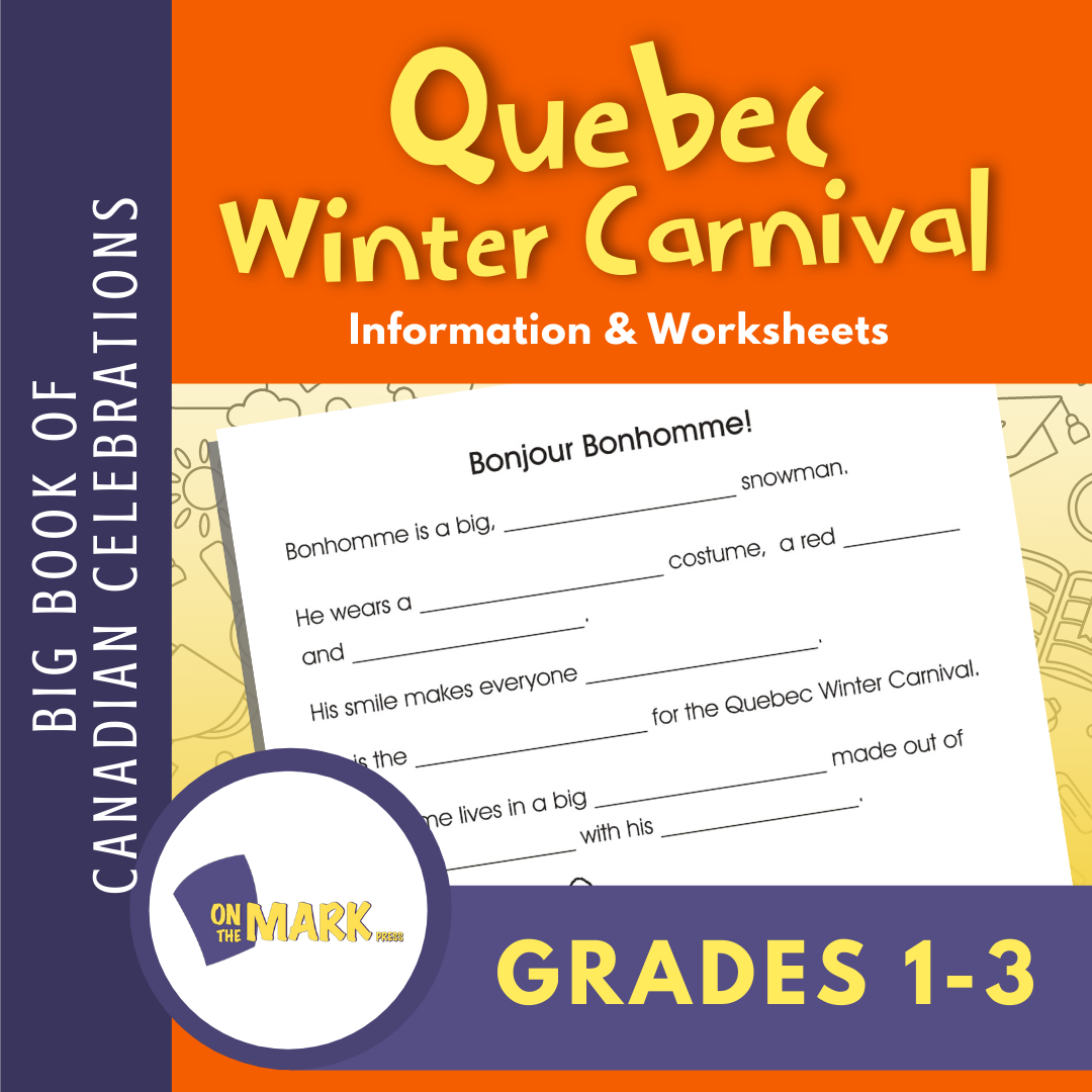 Quebec Winter Carnival Gr. 1-3 E-Lesson Plan