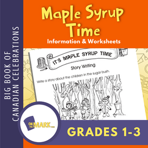 Maple Syrup Time Activity Gr. 1-3
