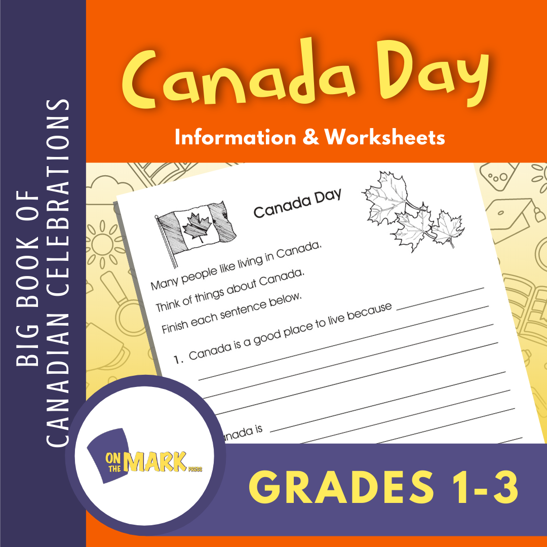 Canada Day Activity Gr. 1-3