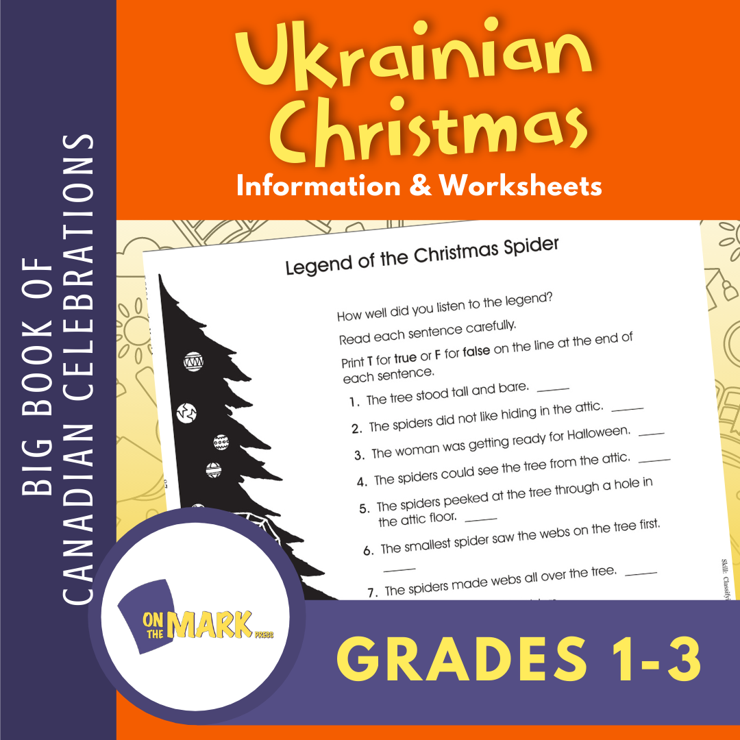 Ukrainian Christmas Gr. 1-3  E-Lesson Plan
