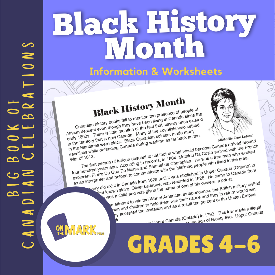 Black History Month Lesson Gr. 4-6