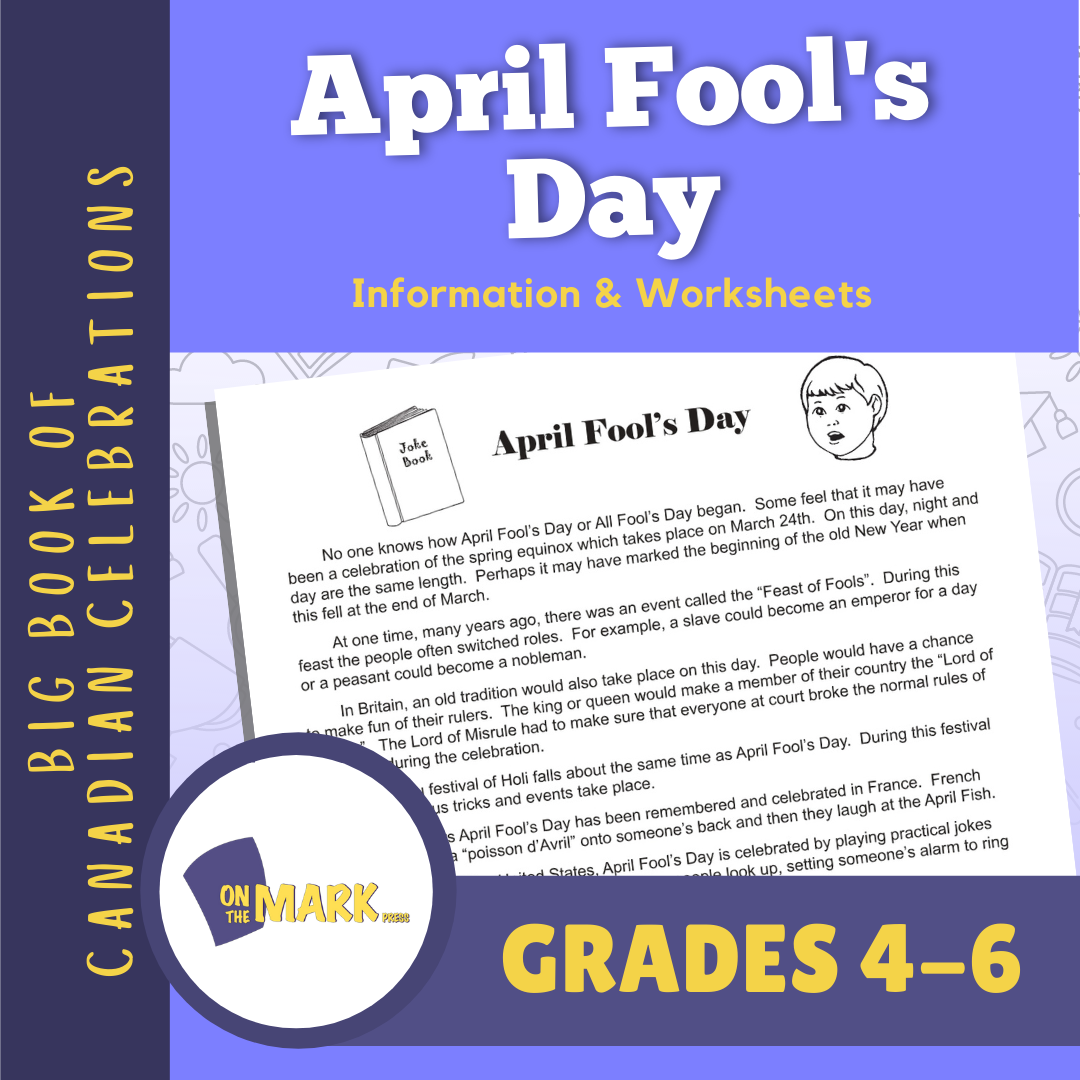 April Fool's Day Lesson Gr. 4-6