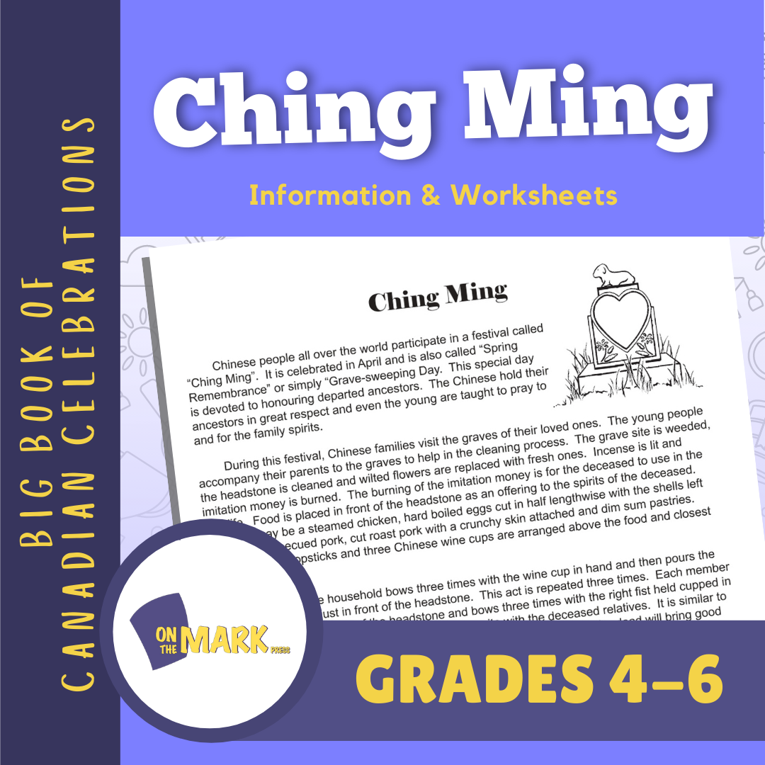 Ching Ming Festival Lesson Gr. 4-6