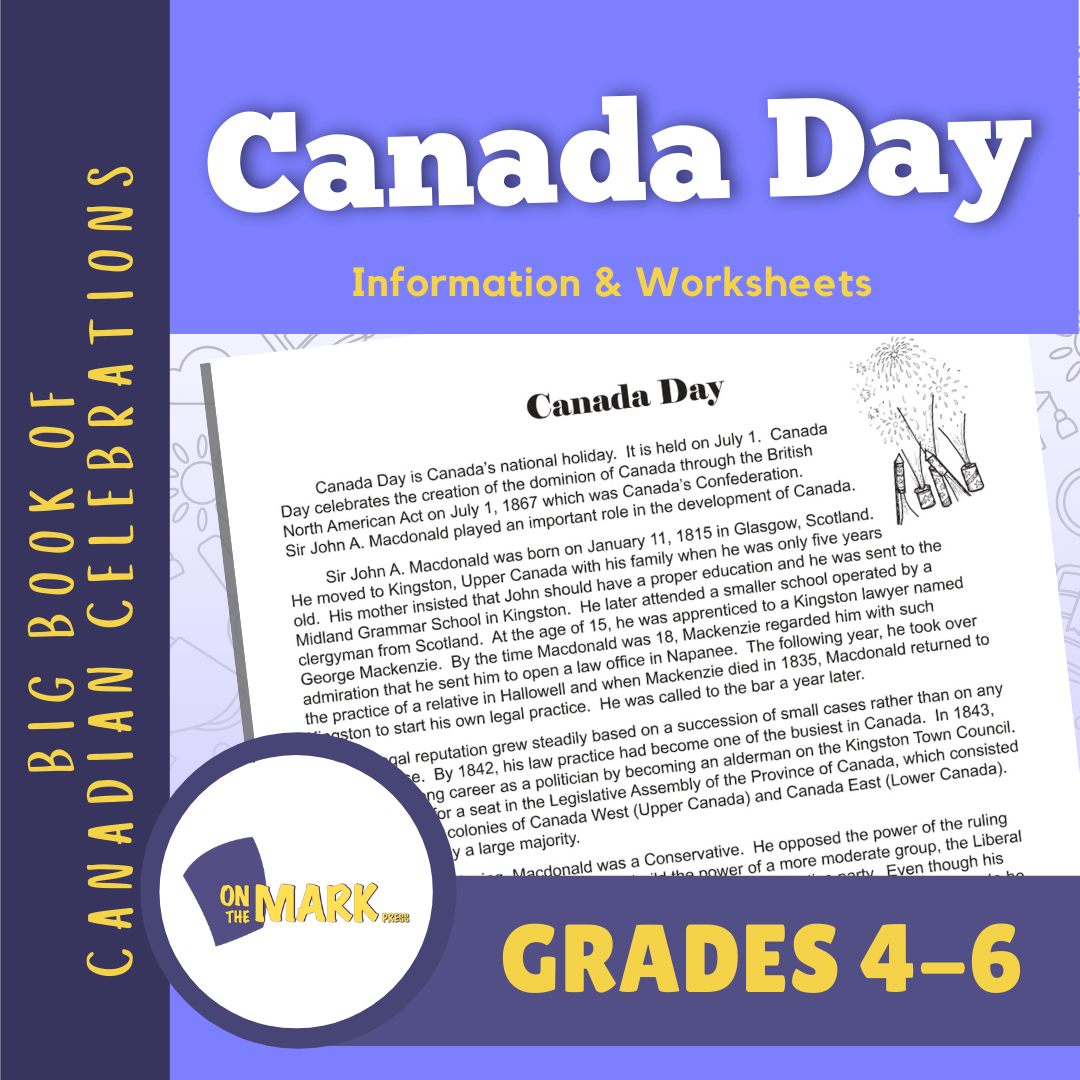 Canada Day Lesson Gr. 4-6