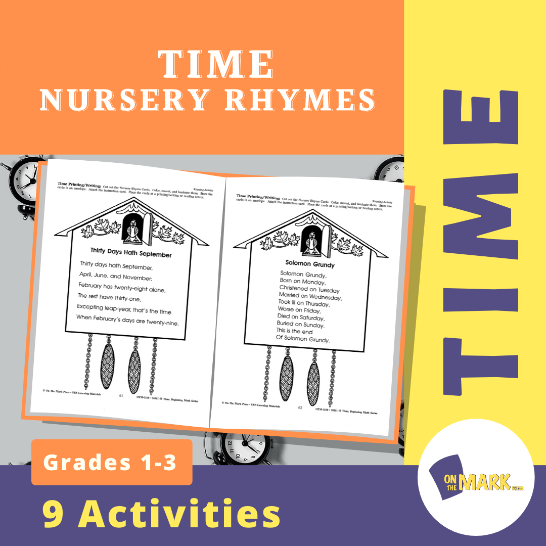 Time Nursery Rhymes Grades 1-3