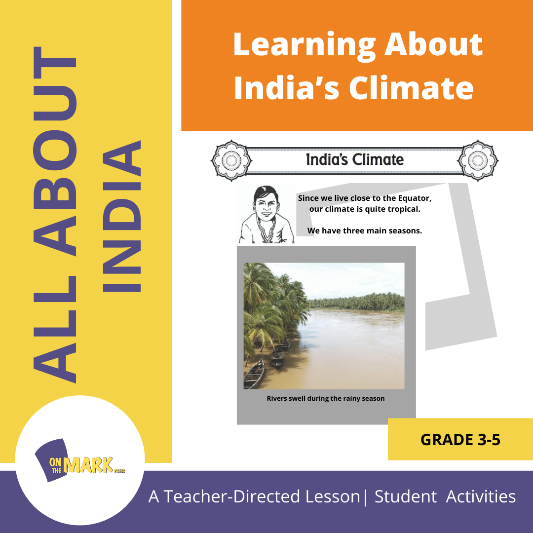 Learning About India's Climate Grades 3-5 Lesson Plan