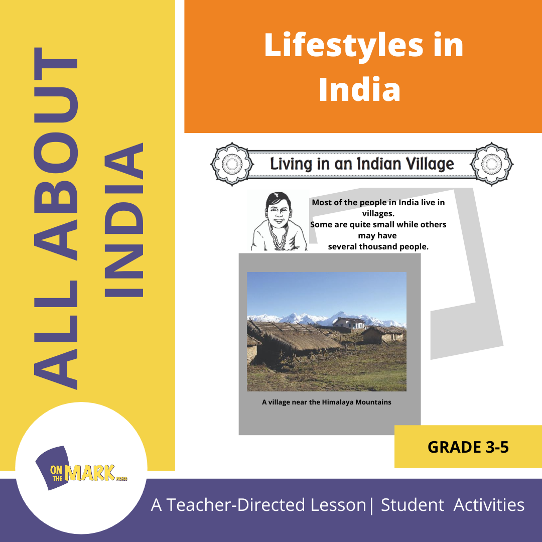 Lifestyles in India Grades 3-5 Lesson Plan