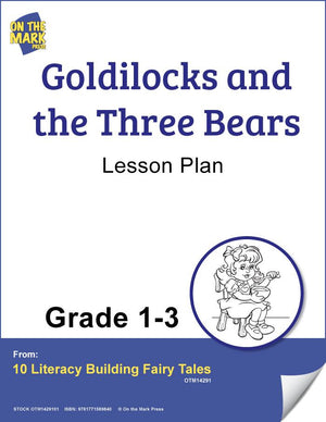 Goldilocks and the Three Bears Aligned To Common Core Gr. 1-3