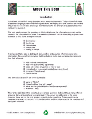 Managing Waste & Recycling Grades 5-8