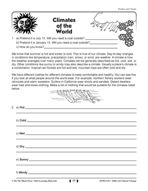 The World We Live In Climate Change Bundle! Grades 5-8