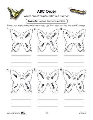 All About Butterflies & Caterpillars Grades 1-2