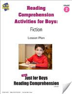 Fiction Reading Comprehension Activities For Boys: Grade 2