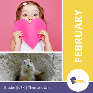 February - An Integrated Theme Unit Grades Jk-Sk