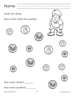 Beginning Basic Skills: Recognizing Coins Gr. K-1