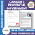 Canada's Provincial Governments: A Social Studies Reading Gr. 3-4 Google Slides