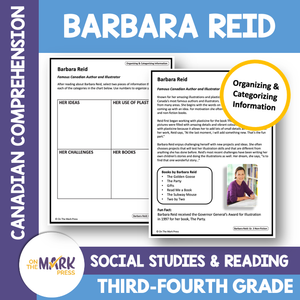 Barbara Reid-CDN Author/Illustrator: Social Studies/Reading Google Slides & Printables Gr. 3-4