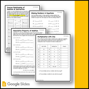 Canadian Patterning Grade 3 Google Slides & Printables