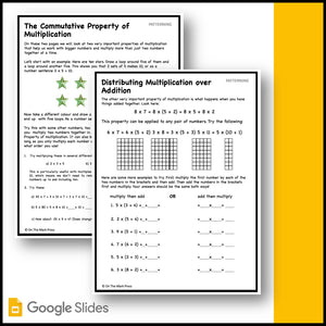 Canadian Patterning Grade 4 Google Slides & Printables